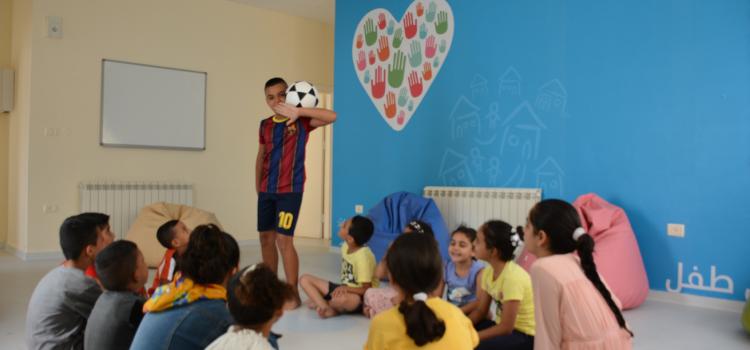 """للمساهمة في تحقيق تنمية مجتمعية مستدامة  بنك فلسطين يفتتح """"مشروع مساحة صديقة للأطفال"""" في قرية SOS ببيت لحم"""